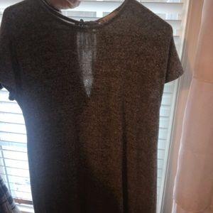 Gray T-shirt Dress, Altard State